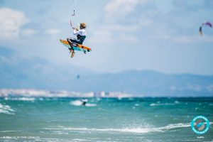 Mitu Monteiro day one, Tarifa, GKA Kite-Surf World Tour Tarifa