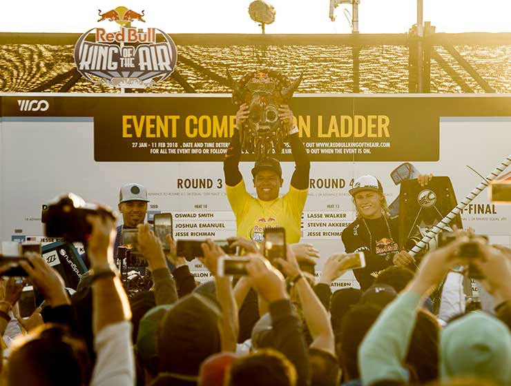 Image for Red Bull King of the Air 2018 – Kevin Langeree is King