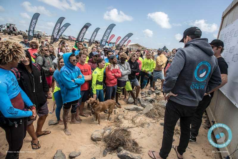 Riders' briefing GKA Cape Verde