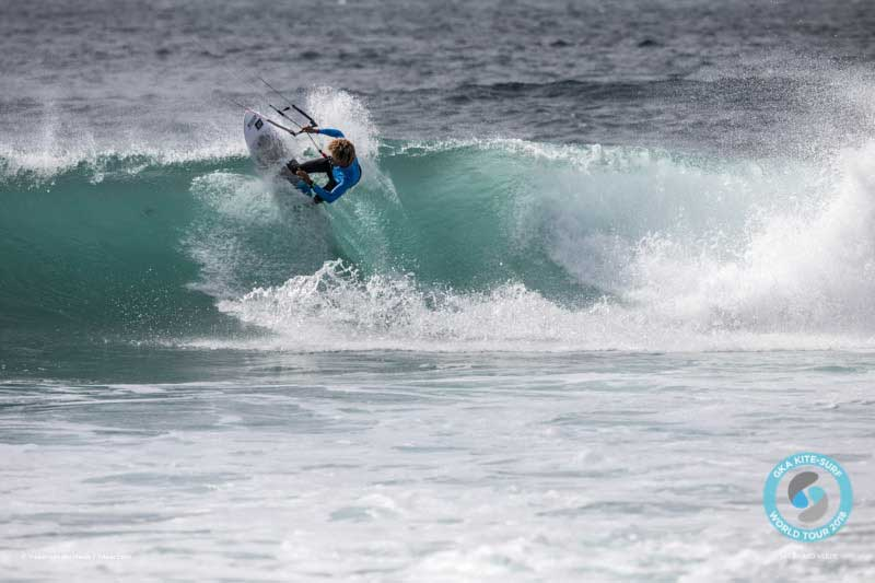 Matchu Lopes competing at the GKA Cape Verde