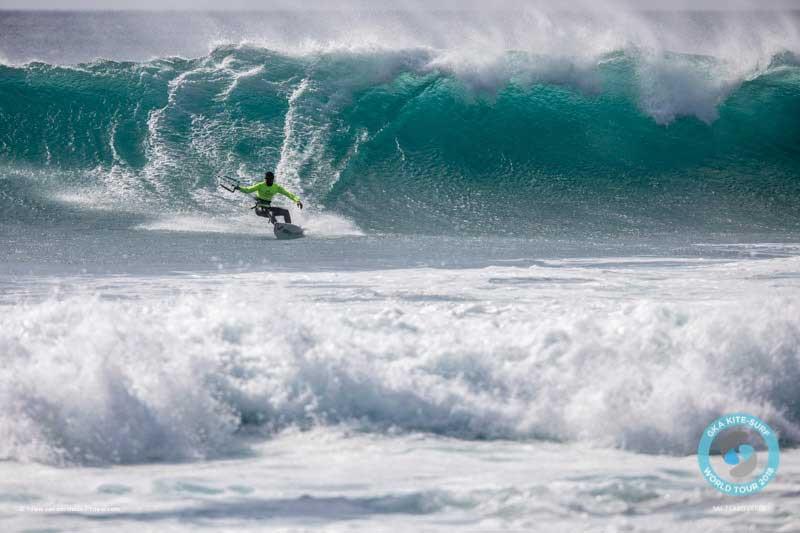 Kitesurfer Titik Lopes GKA Cape Verde