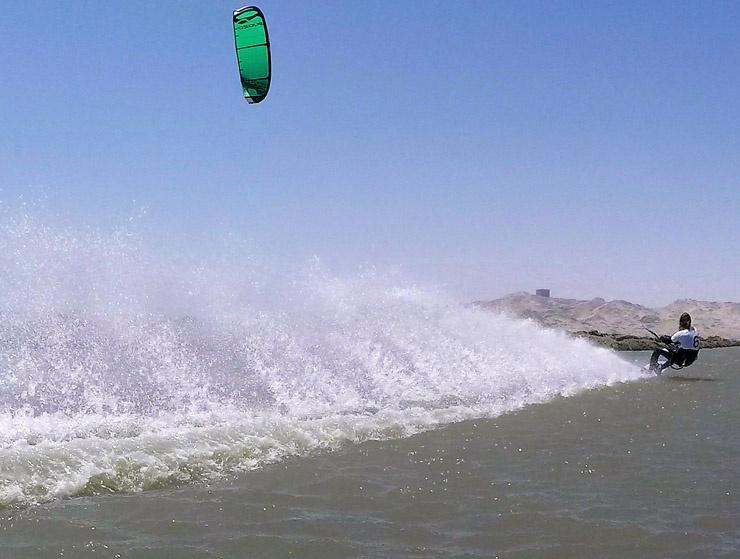 Image for Sebastien Cattelan hits warp speed in Luderitz