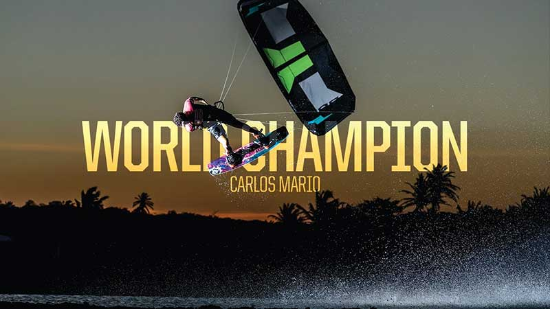 GKA Kiteboarding World Tour Leucate - Carlos Mario