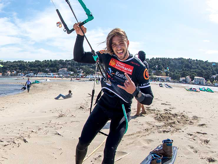 Image for Day One – Leucate – GKA Kiteboarding World Tour 2018