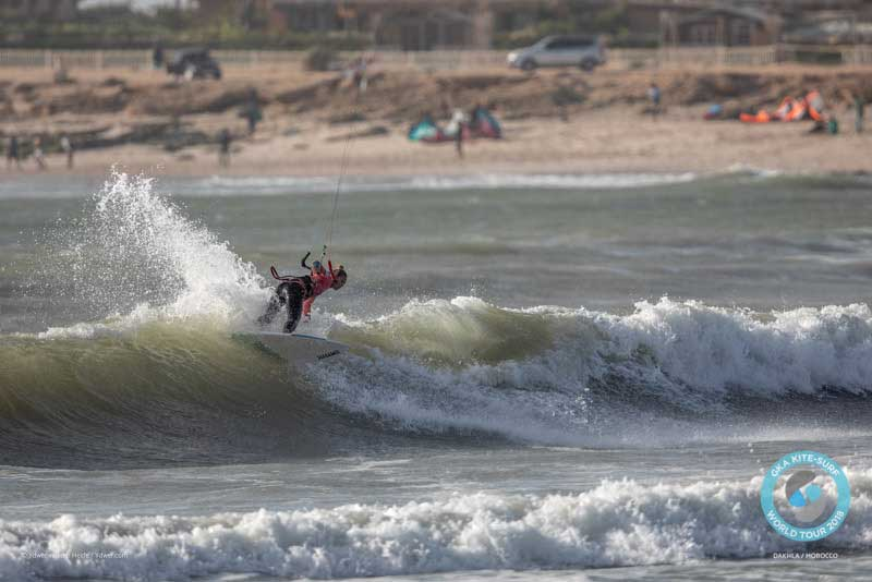 GKA Kite-Surf World Tour Dakhla 2018 Finals - Jalou Langeree