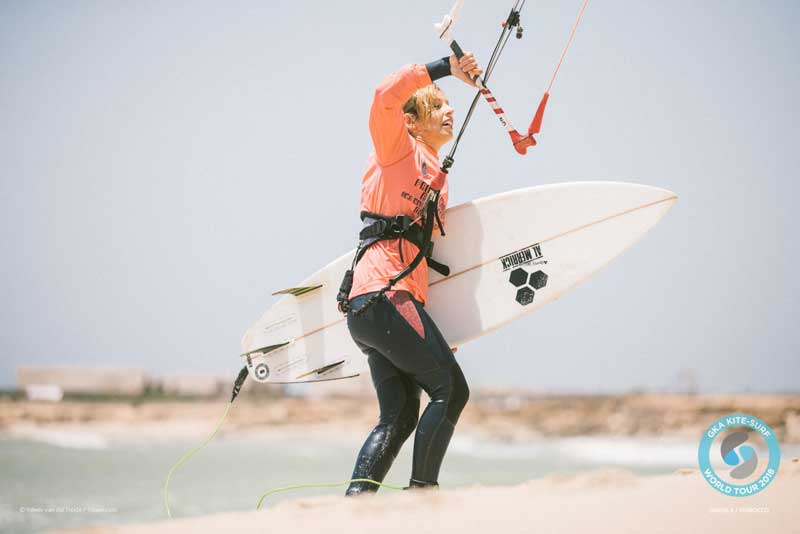 GKA Kite-Surf World Tour Dakhla 2018 - Marie Gautron