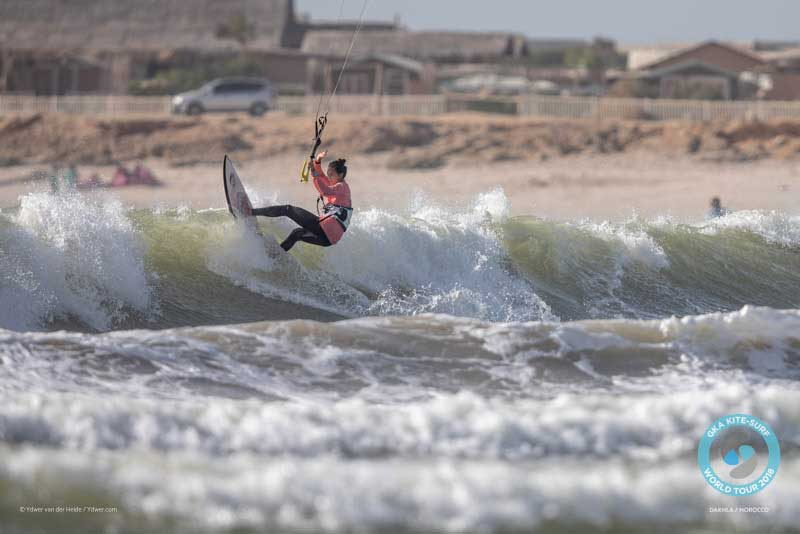 GKA Kite-Surf World Tour Dakhla 2018 Finals - Moona Whyte