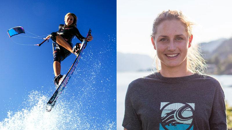 Annelous Lammerts Hannah Whiteley - GKA Kiteboarding World Tour - Leucate - Mondial du Vent