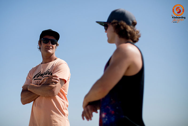Jaime and Jesse Richman in Leucate