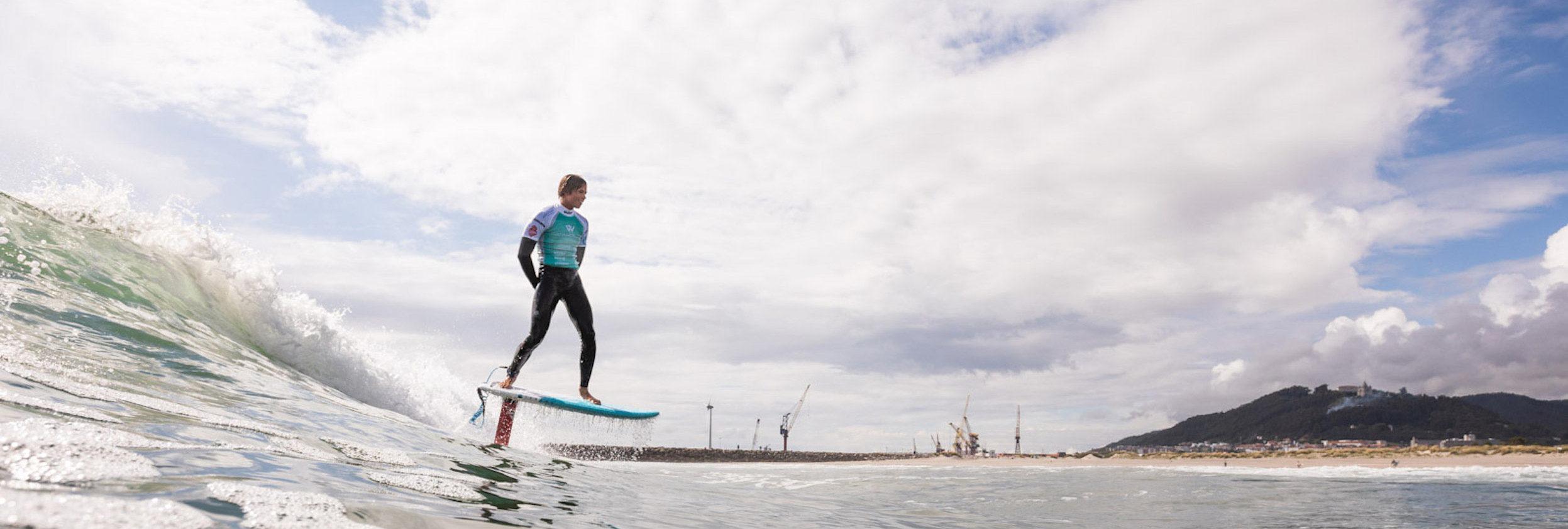 Keahi de Aboitiz - Surf foiling - GKA KSWT Portugal 2018