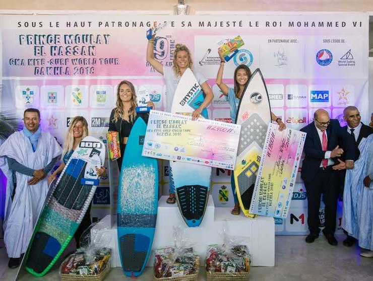 Image for GKA Kite-Surf World Tour Dakhla 2018 – Women's Action
