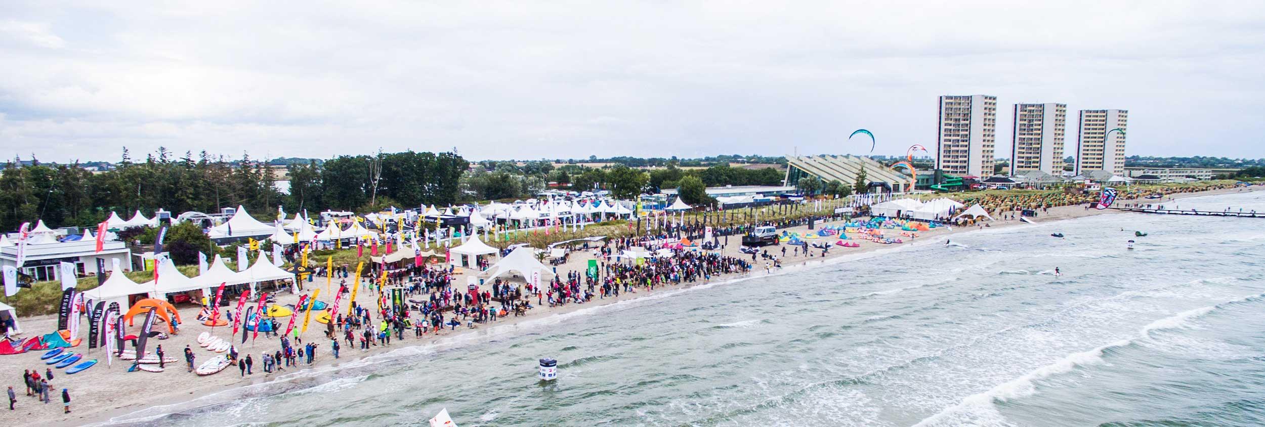Fehmarn event - GKA Germany Kitesurf World Cup - Air Games